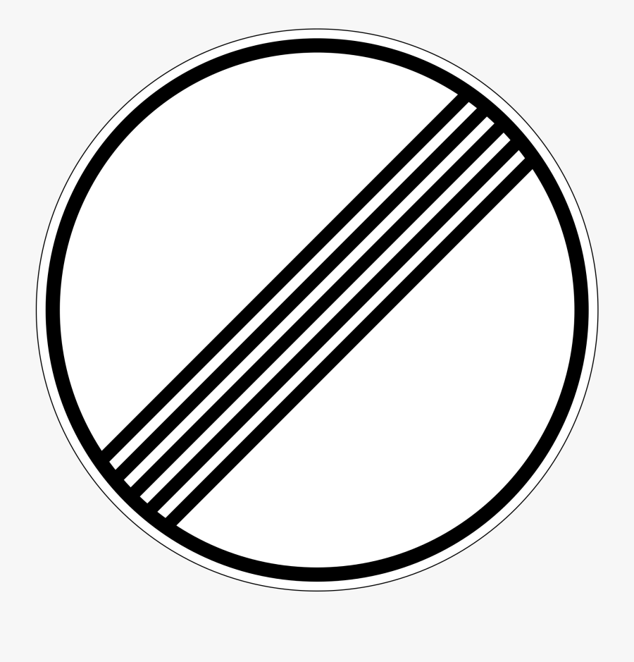 Traffic Sign Road Sign Shield - Free Speed Limit Sign, Transparent Clipart