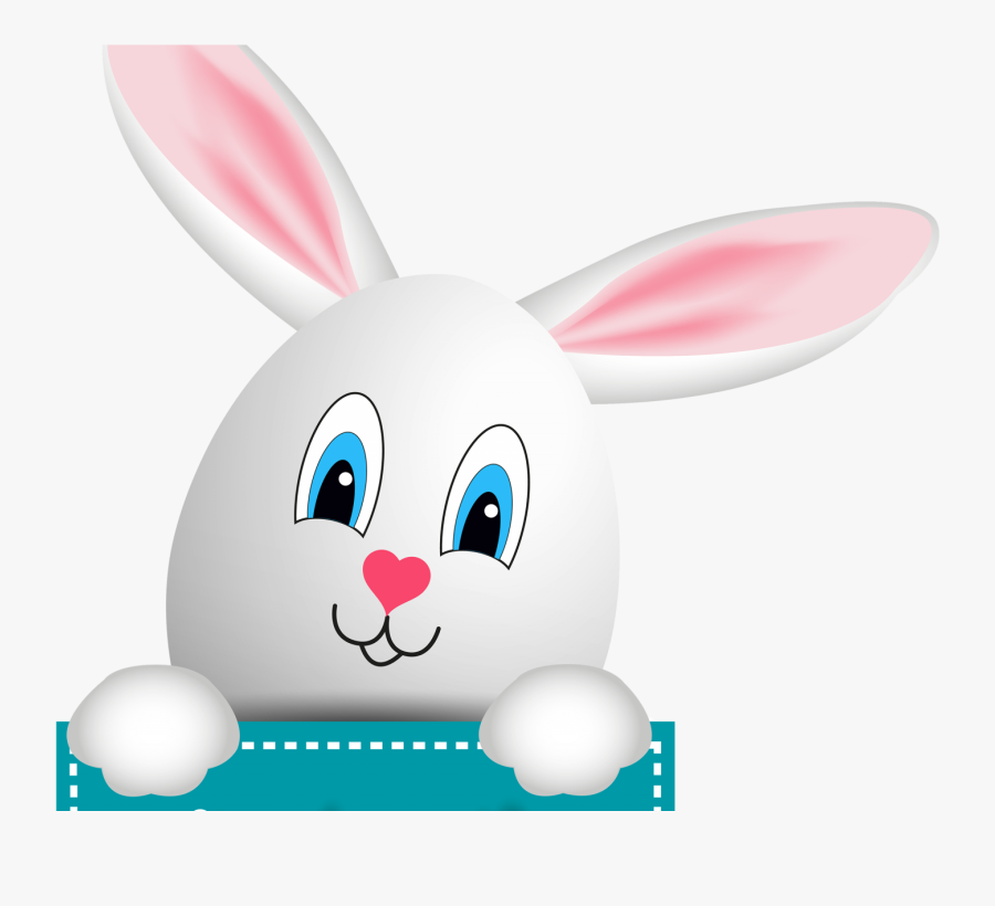 Happy Easter Bunny Png Clipart , Png Download - Easter Rabbit Clipart Png, Transparent Clipart
