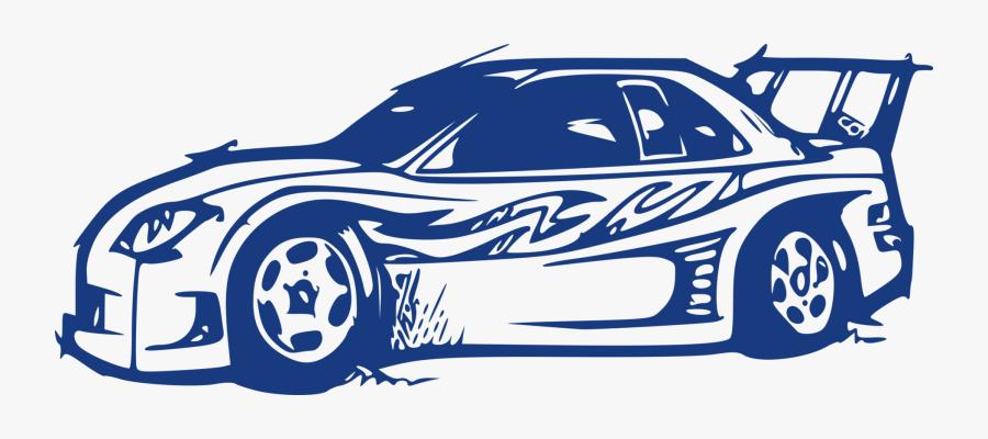 Blue,art,area - Baby Blue Sports Car Clipart, Transparent Clipart
