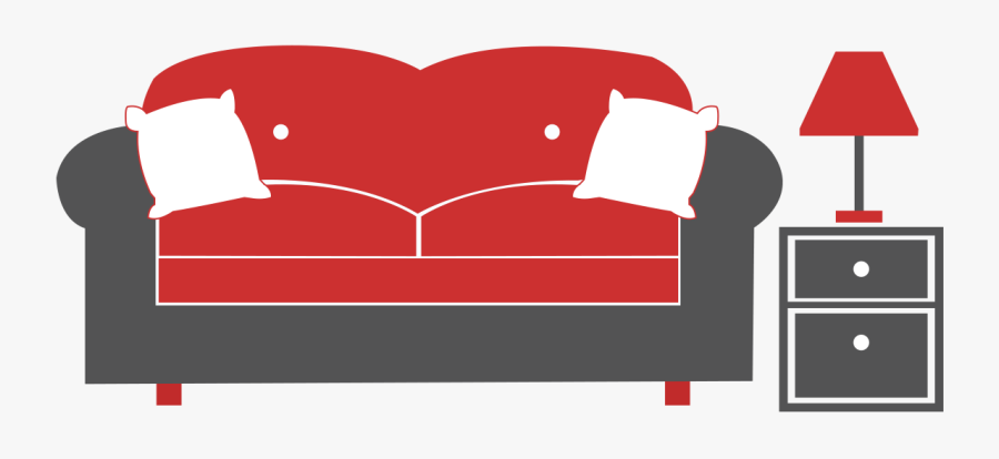 Get A New Luxury Three Seater Sofa In Your Living Room - Studio Couch, Transparent Clipart