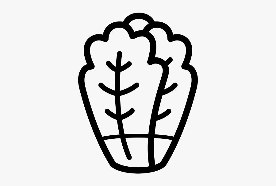 "Romaine Lettuce Rubber Stamp""  Class=""lazyload Lazyload, Transparent Clipart"