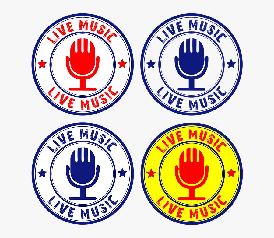 Live, Music, Mold, Concert, Party - Live Music, Transparent Clipart