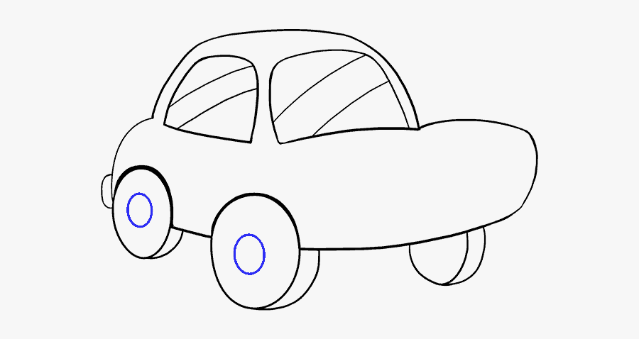 How To Draw A - Drawing, Transparent Clipart