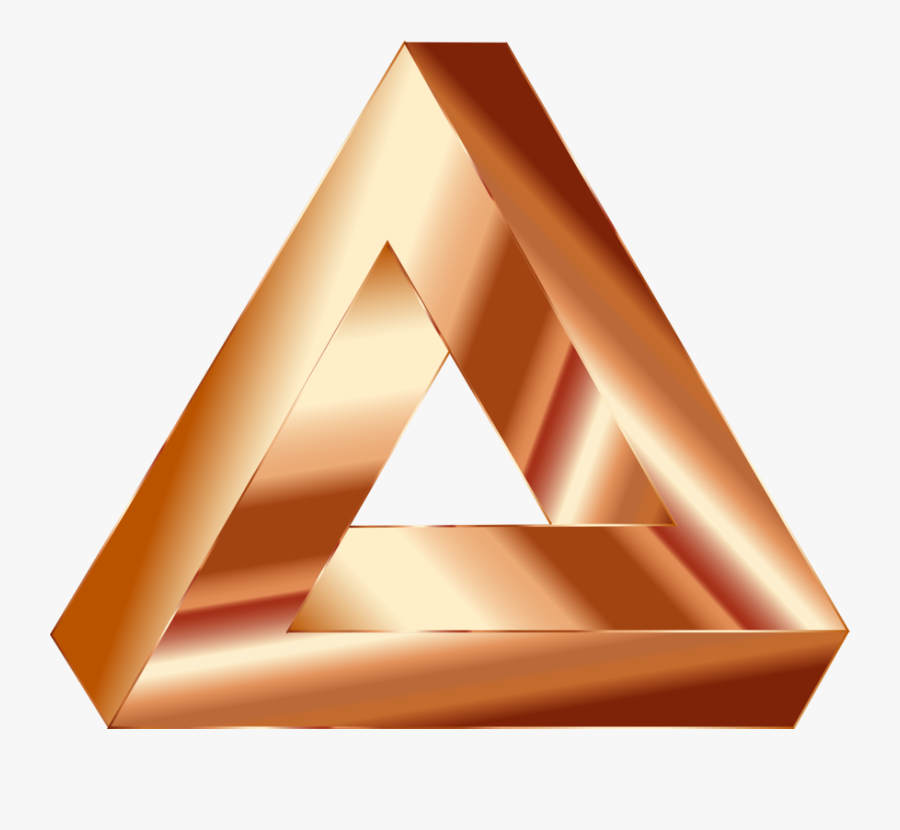 Angle,line,triangle - Gold Triangle Png, Transparent Clipart