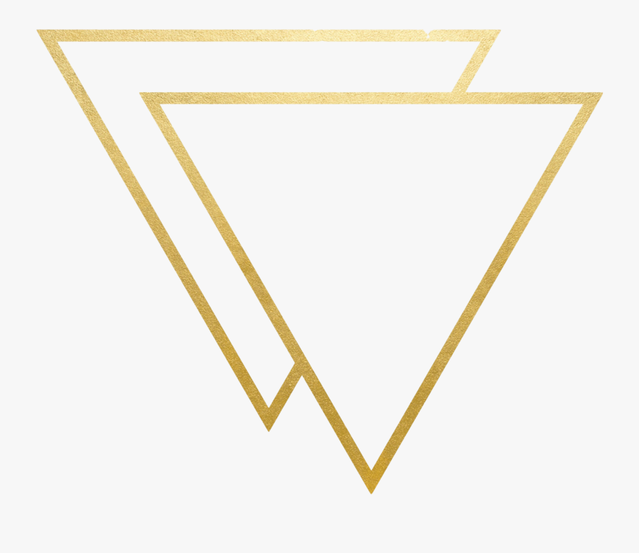 Gold Triangle Png - Transparent Gold Triangle Png, Transparent Clipart