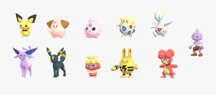 Pokemon Go Pokemon Png, Transparent Clipart