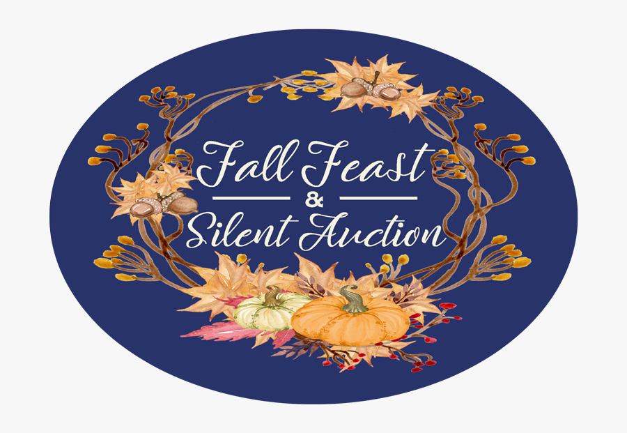 Fall Feast And Silent Auction - Illustration, Transparent Clipart
