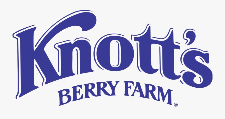 Clip Art Knotts Berry Farm Logo - Knott's Berry Farm Drawing, Transparent Clipart