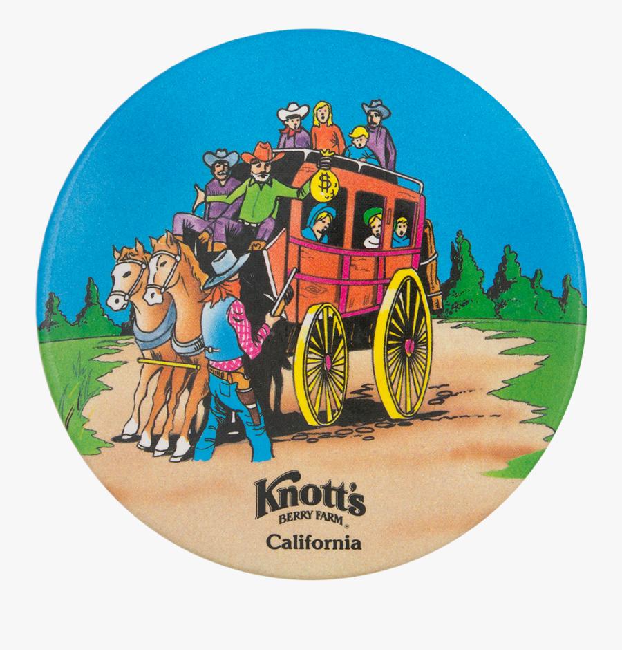 """Knott""""s Berry Farm California Entertainment Button - Knotts Berry Farm, Transparent Clipart"""