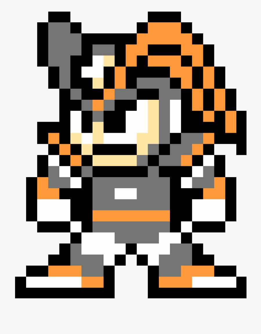 Transparent Megaman Helmet Png - 8 Bit Mega Man Bass, Transparent Clipart