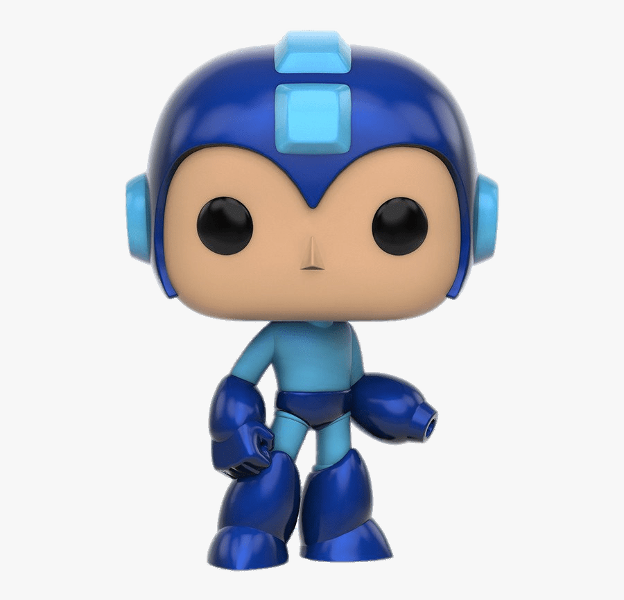 Pop Games Megaman Figurine - Mega Man Funko Pop, Transparent Clipart