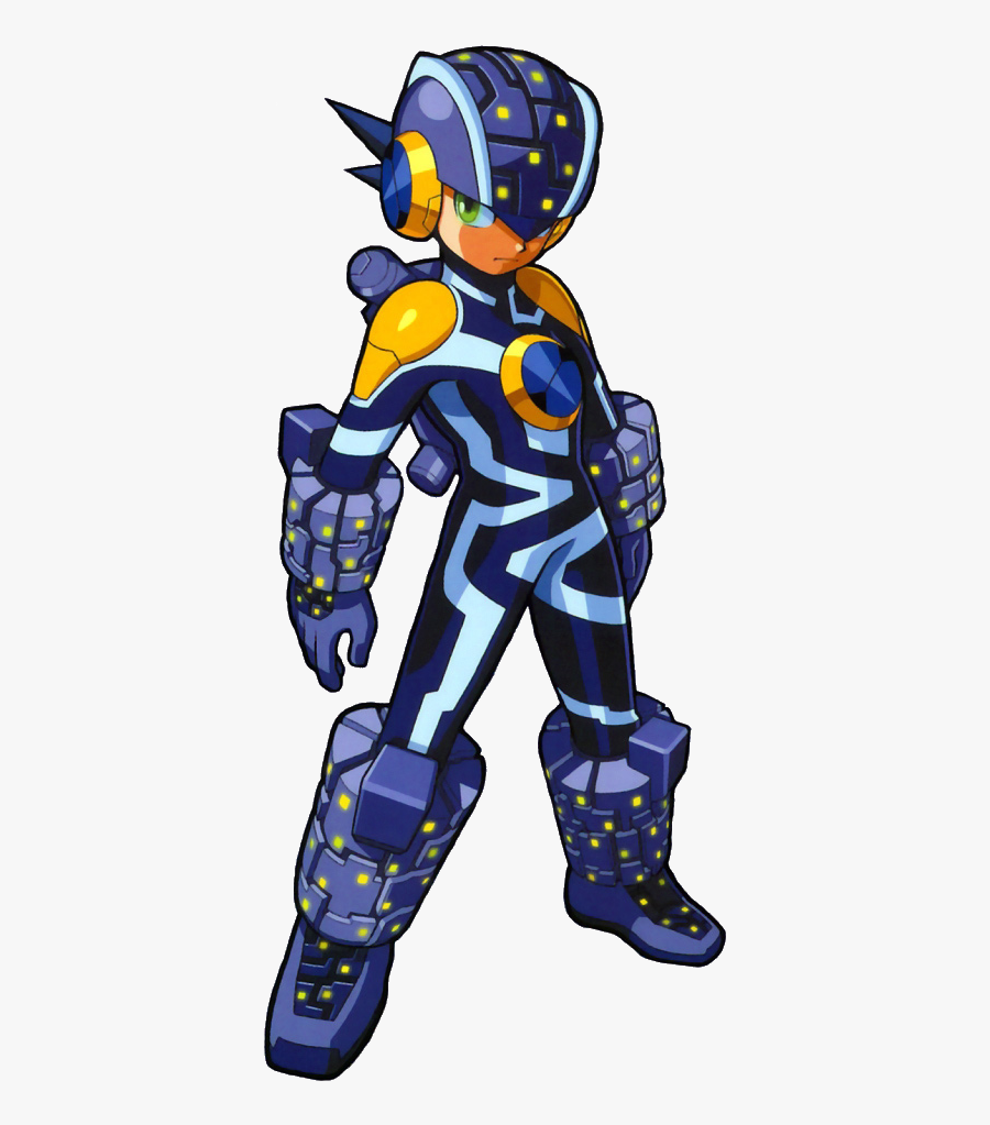 Megaman Battle Network Bug Style - Megaman Nt Warrior Forms, Transparent Clipart