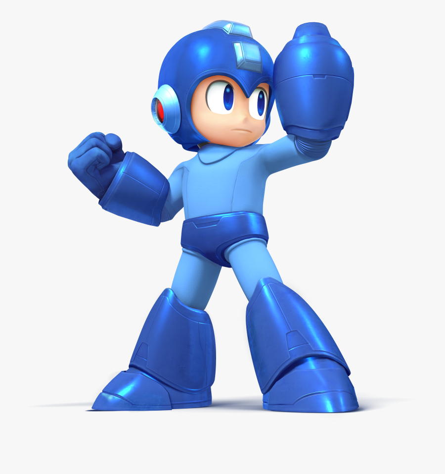 Mega Man Super Smash Bros, Transparent Clipart