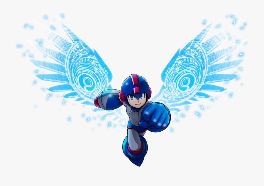 Transparent Red Bull Png - Mega Man Red Bull, Transparent Clipart