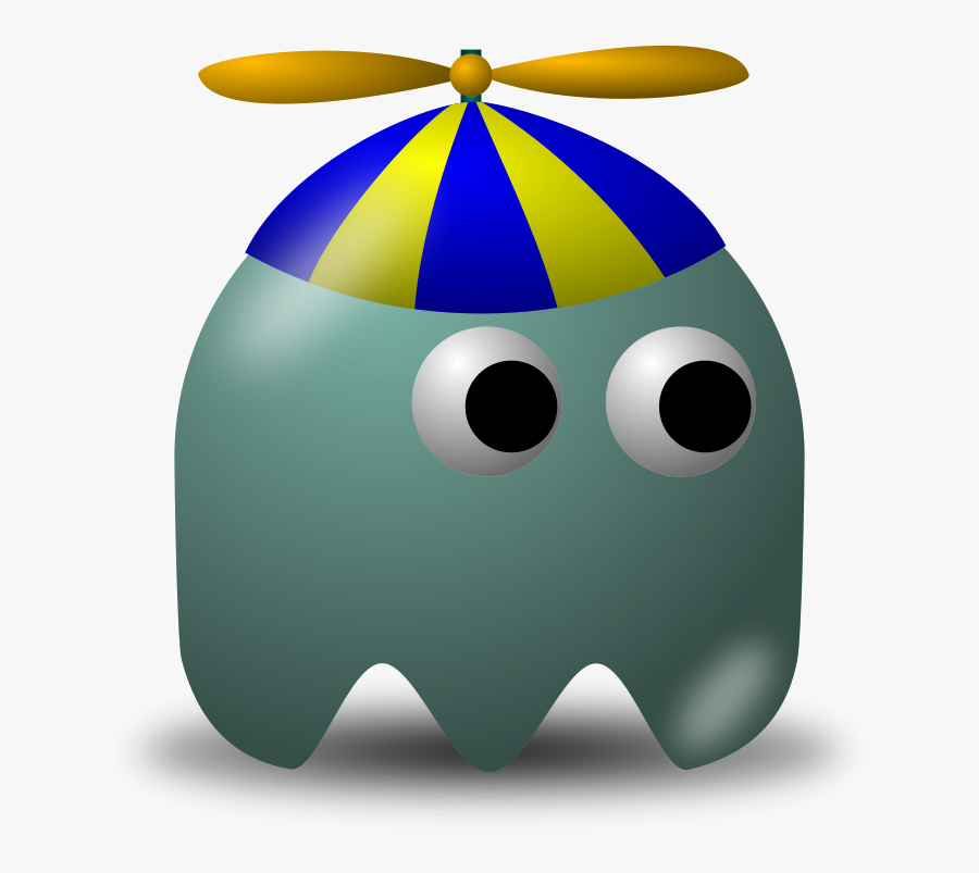 Game Baddie - Brown Pac Man Ghost, Transparent Clipart