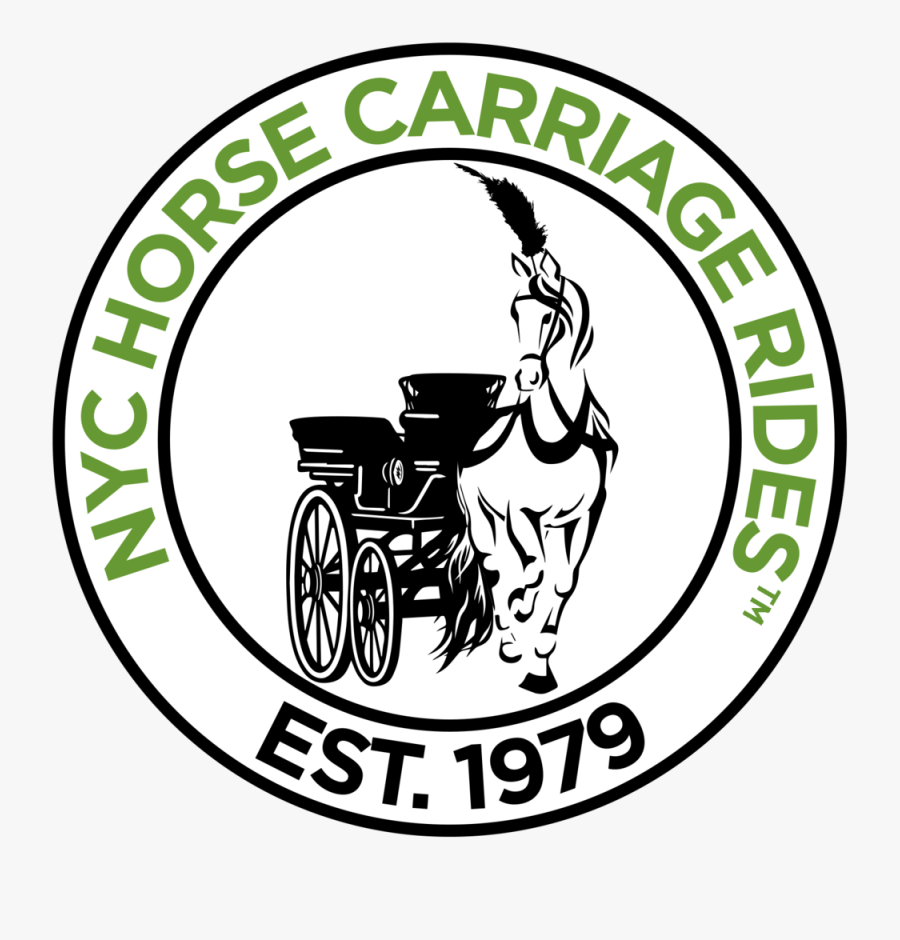 Nyc Carriage Rides - Nyc Horse Carriage Rides Logo, Transparent Clipart