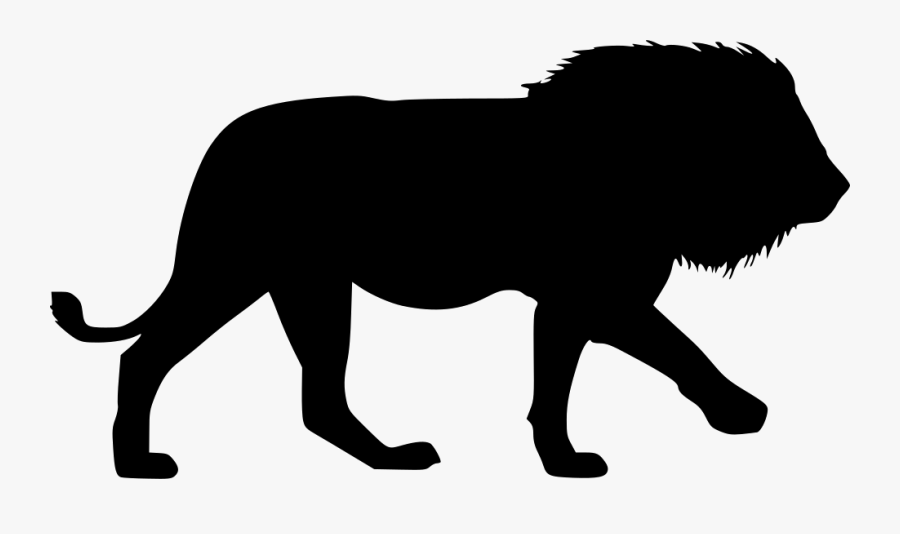 Mammal,clip Animal,line Cats,animal Figure,felidae,black - Lion Icon Png Transparent, Transparent Clipart