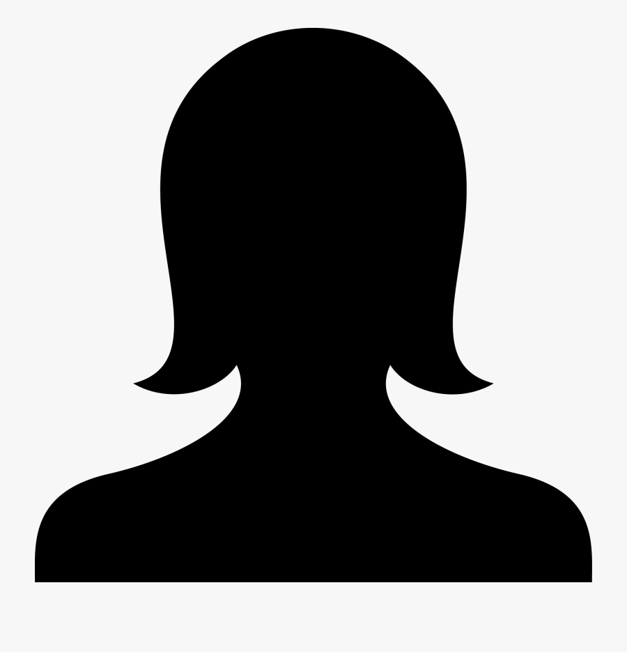 Hair,illustration,art - Female Head Icon Png, Transparent Clipart