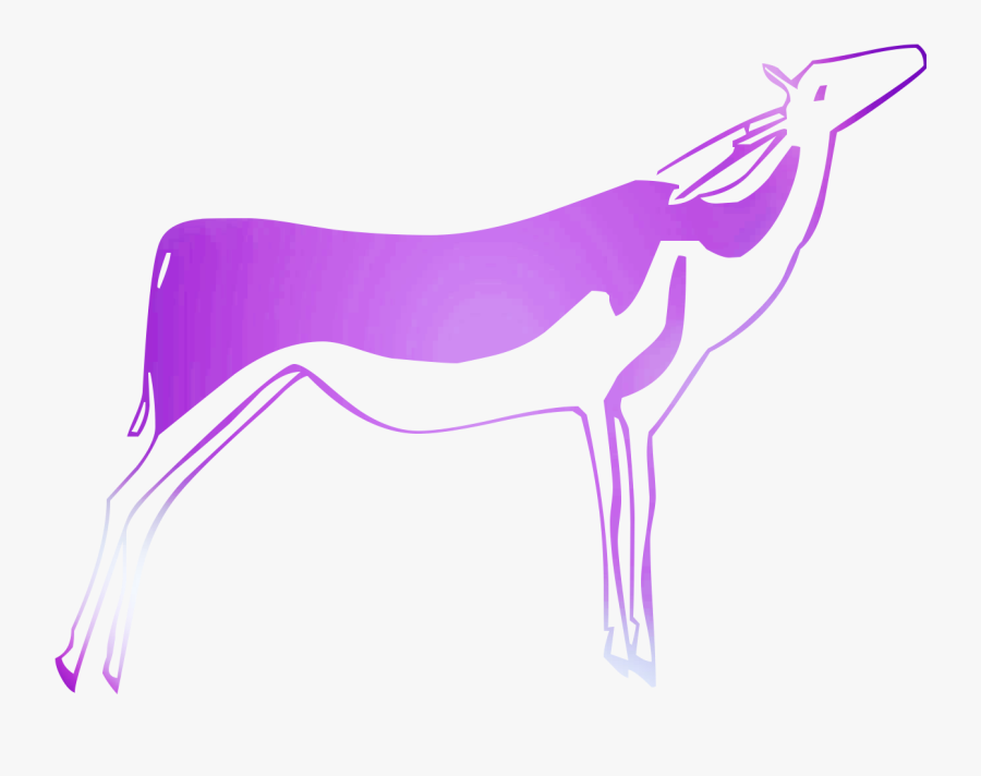 Canidae Graphics Dog Illustration Unicorn Free Clipart - Rampur Greyhound, Transparent Clipart