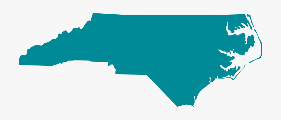 Map Of North Carolina Png - State North Carolina, Transparent Clipart