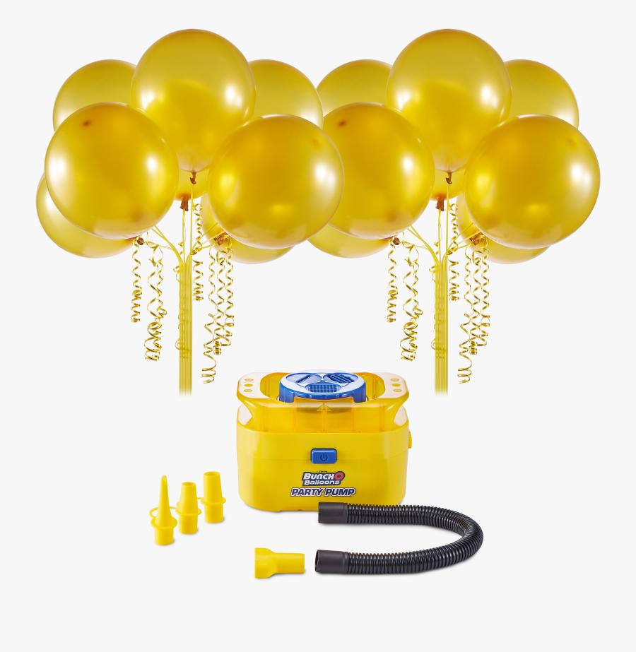 Bunch O Balloons Portable Party Balloon Electric Air - Bunch O Balloons Party, Transparent Clipart