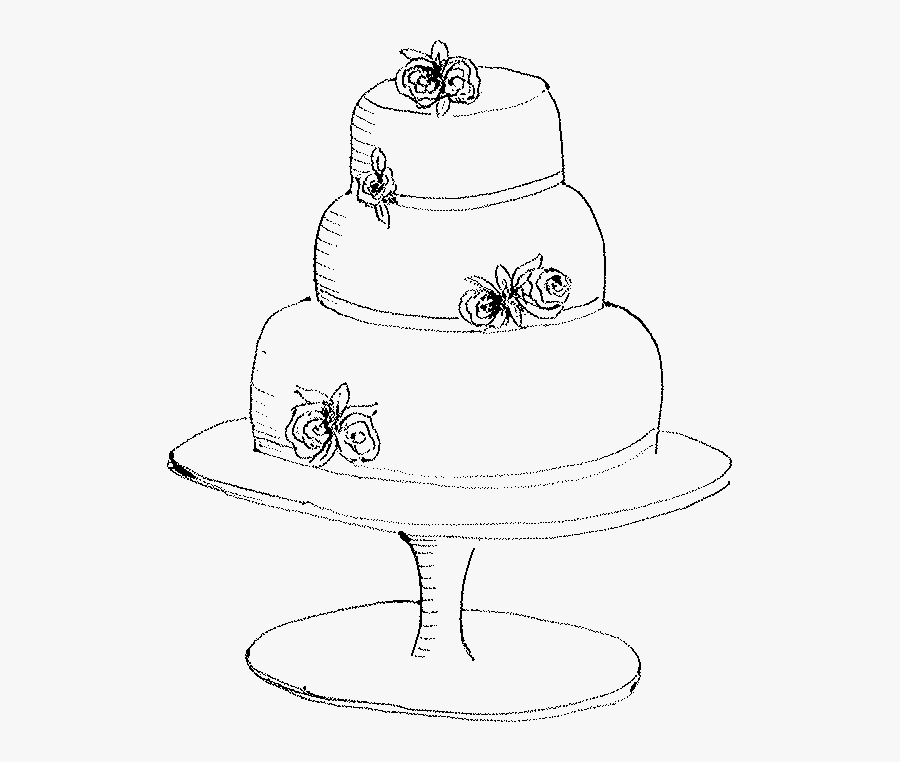 Excellent Fancy Birthday Cake Drawing Free Transparent Clipart Clipartkey Personalised Birthday Cards Sponlily Jamesorg