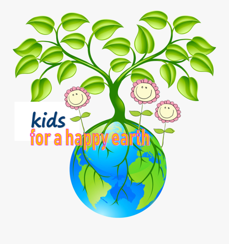 Earth Day Tree Clipart, Transparent Clipart