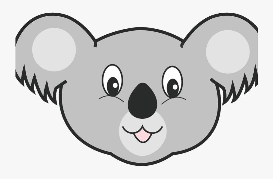 Download Nobby Design Koala Face Mask Clipart , Png - Koala Cartoon Face Png, Transparent Clipart