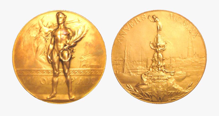 Transparent Bronze Medal Png - 1920 Summer Olympics Medals, Transparent Clipart
