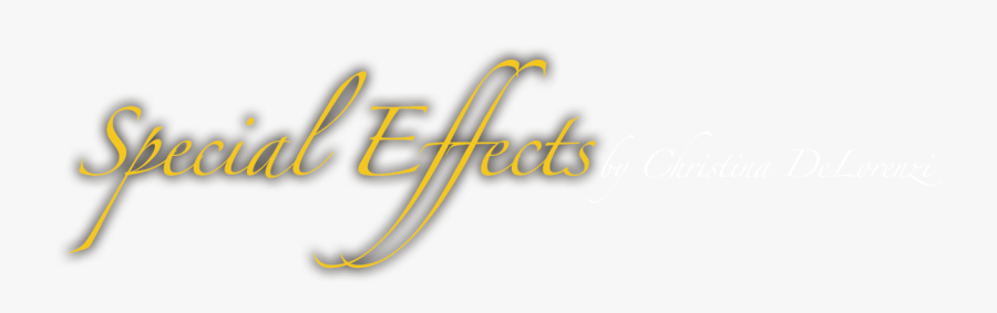 Transparent Png Special Effects - Calligraphy, Transparent Clipart