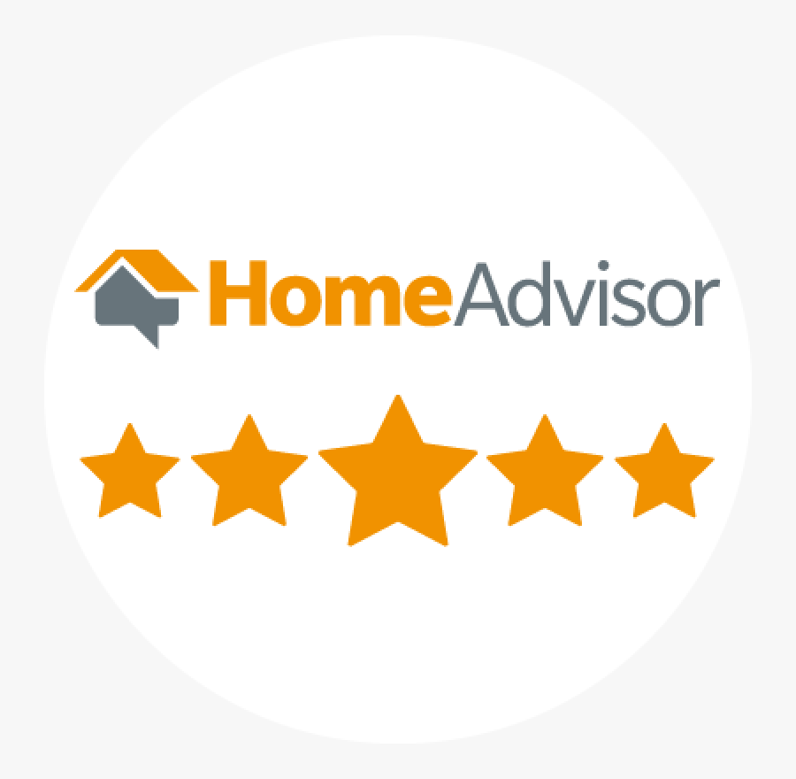 Download Top Rated Insulation - Home Advisor 5 Stars, Transparent Clipart