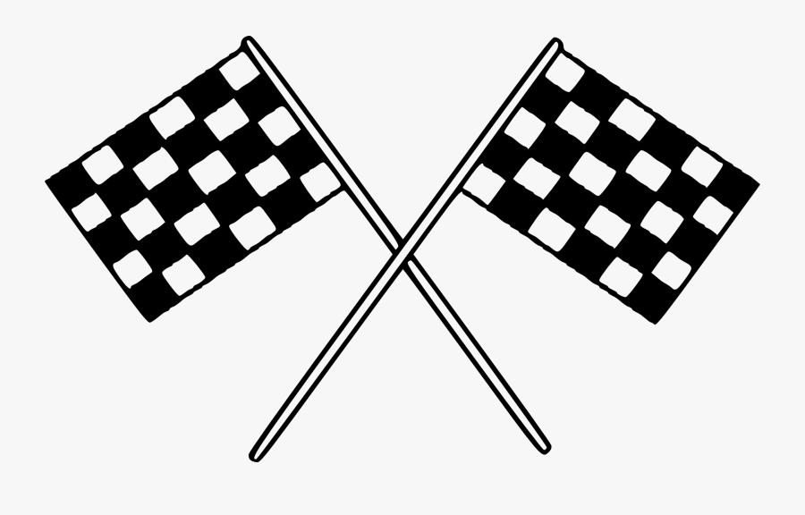 Race Flag Clip Art, Transparent Clipart