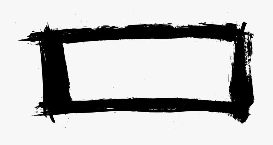 Rectangle Frame Png - Illustration, Transparent Clipart