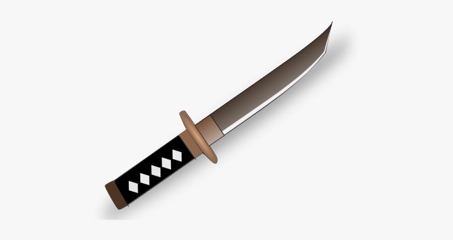 Samurai Clipart Medieval - Tanto Clipart, Transparent Clipart