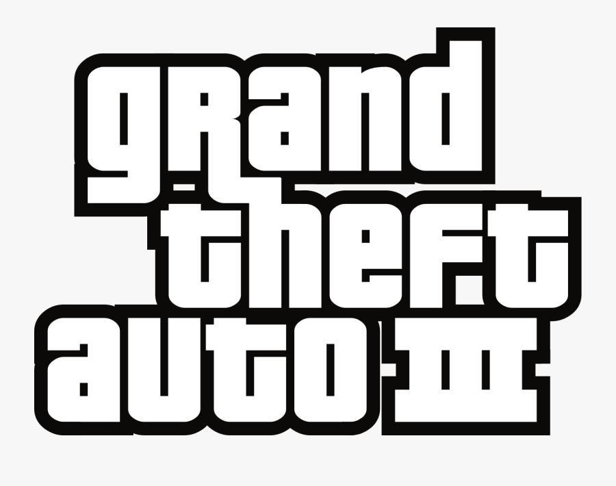 Grand Theft Auto - Grand Theft Auto 3 Logo, Transparent Clipart