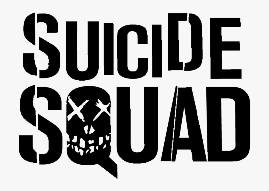 Suicide Squad Schriftzug, Transparent Clipart