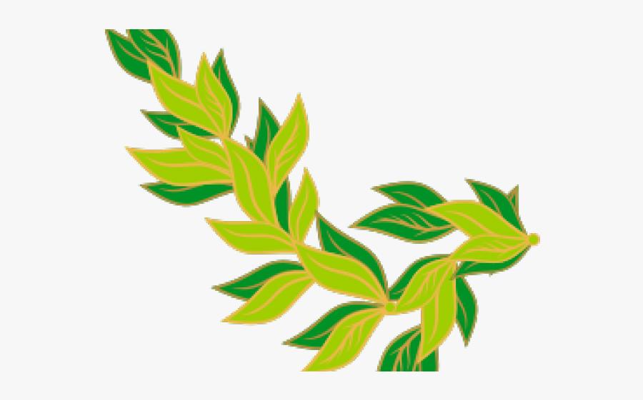 Leaf Clipart Garland - Clipart Leaves Border, Transparent Clipart