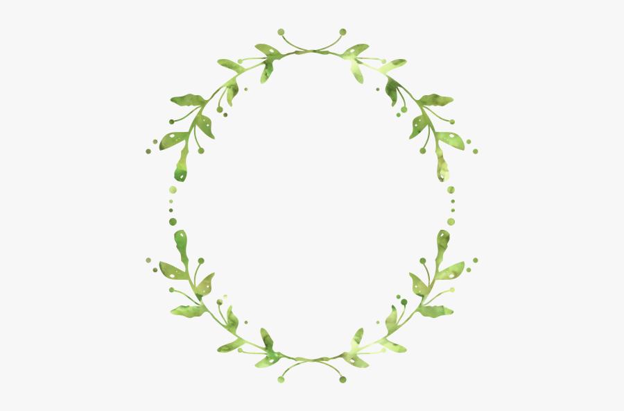 Wreath Leaf Garland Crown - Free Green Leaf Wreath, Transparent Clipart