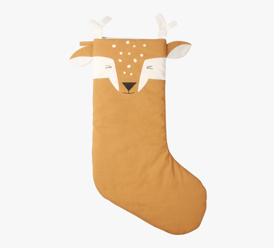 Fabelab Christmas Stocking Silly Fawn - Chaussette De Noel, Transparent Clipart