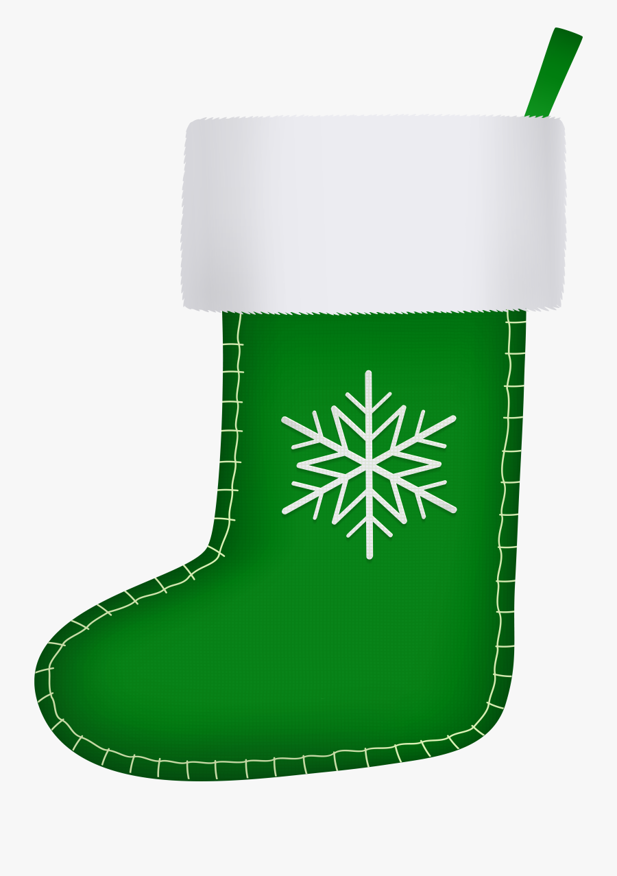 Stocking Clipart Boot - Png Clipart Christmas Stockings, Transparent Clipart