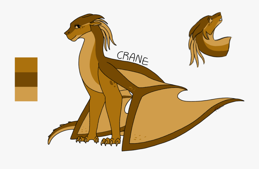 She Is Beauty She Is Grace got Killed By Icy Meanie-face guessing - Wings Of Fire Crane, Transparent Clipart