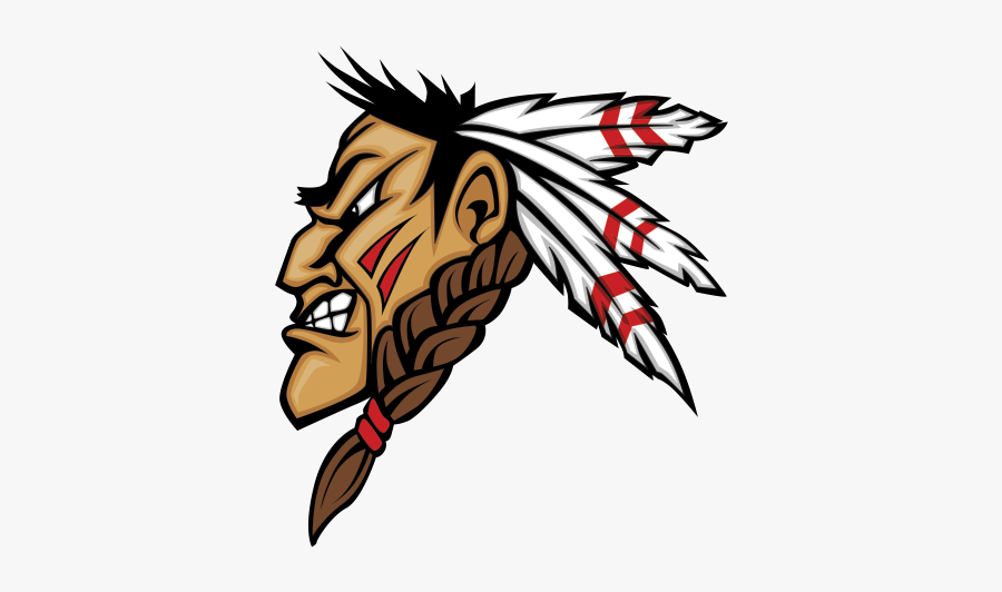 Warrior Clipart Ethnic - Feather Football Helmet Decal, Transparent Clipart