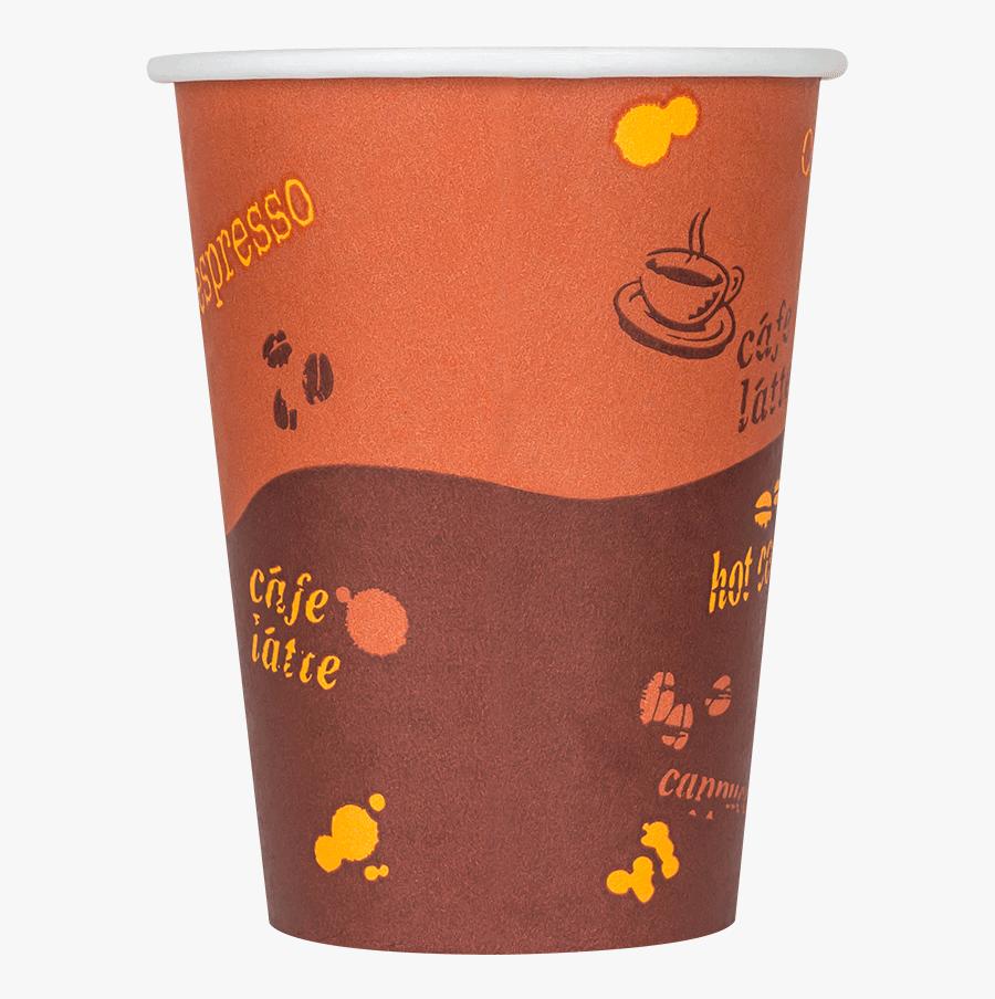 Karat 12oz Paper Hot Cups - Coffee House, Transparent Clipart