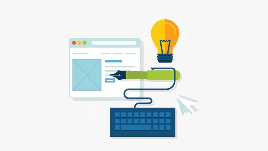 Content Marketing Services Png, Transparent Clipart
