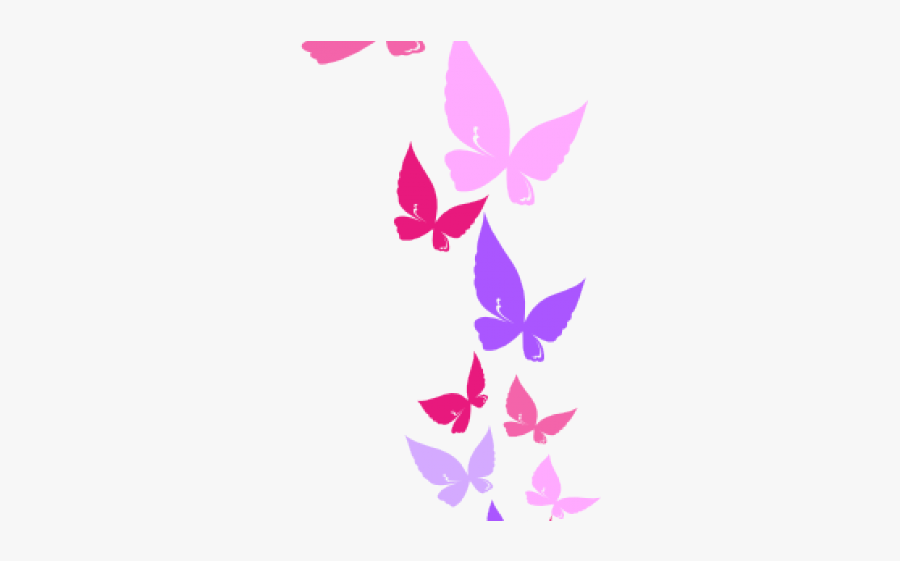 Clipart Border Butterfly Png, Transparent Clipart