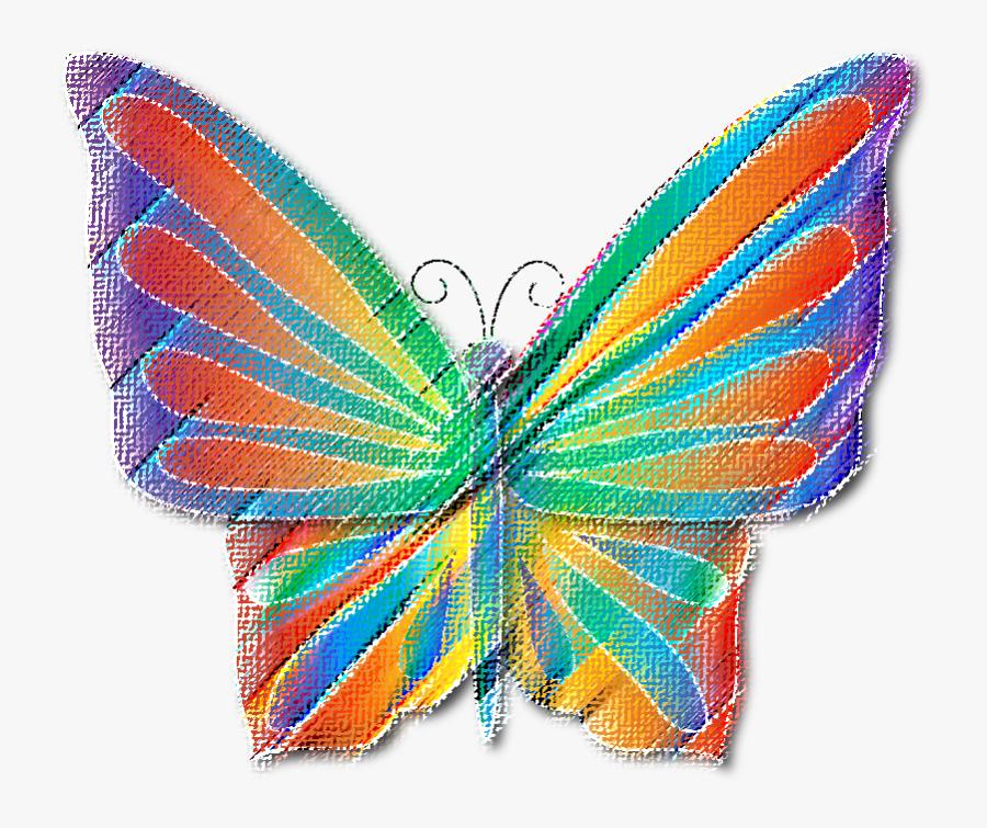 Clip Art Monarch Brush Footed Butterflies - Lycaenid, Transparent Clipart