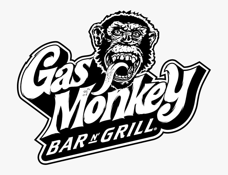 Clipart Music Emblem - Gas Monkey Bar And Grill Logo, Transparent Clipart