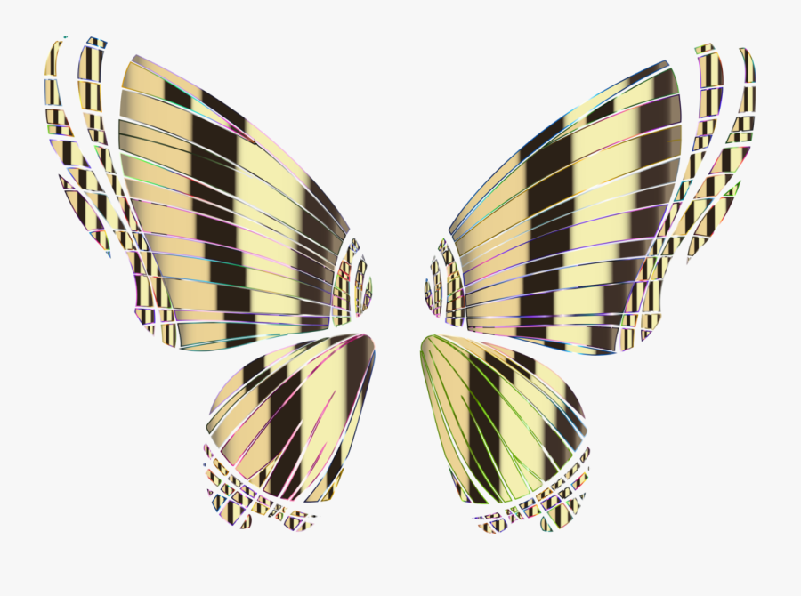 Butterfly Rgb Color Model - Portable Network Graphics, Transparent Clipart