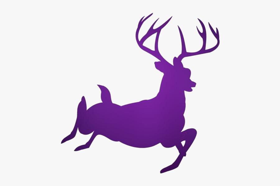 Buck Deer Png Transparent Images - Deer Silhouette Transparent Background, Transparent Clipart