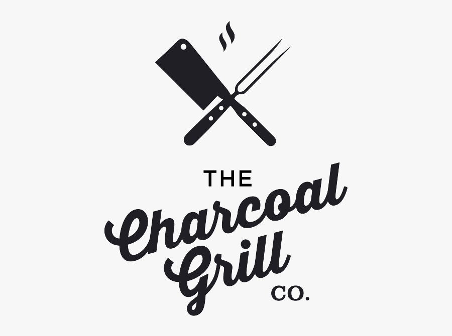Charcoal Grill Logo, Transparent Clipart
